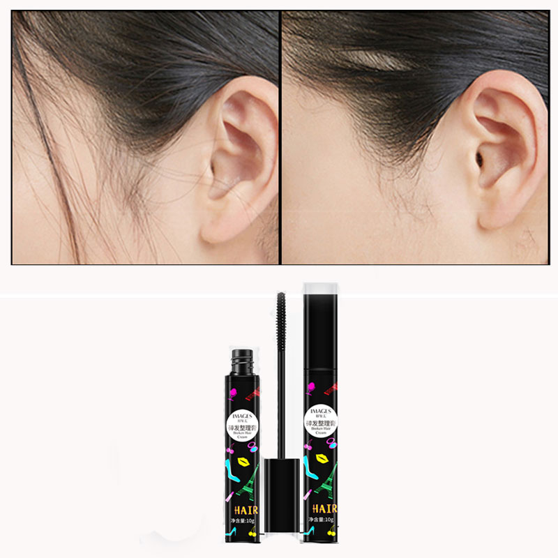Broken Hair Arrangement Cream Prevent Hair Lmpetuous No Stickiness No Lump Soft Bright And Smooth Hair Care Styling Cream 10g