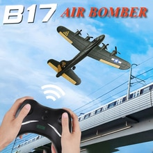 Large EPP Craft Foam Fall Resistant 2CH Stunt Flying Glider Long Battery Life Air Fortress Bomber RC
