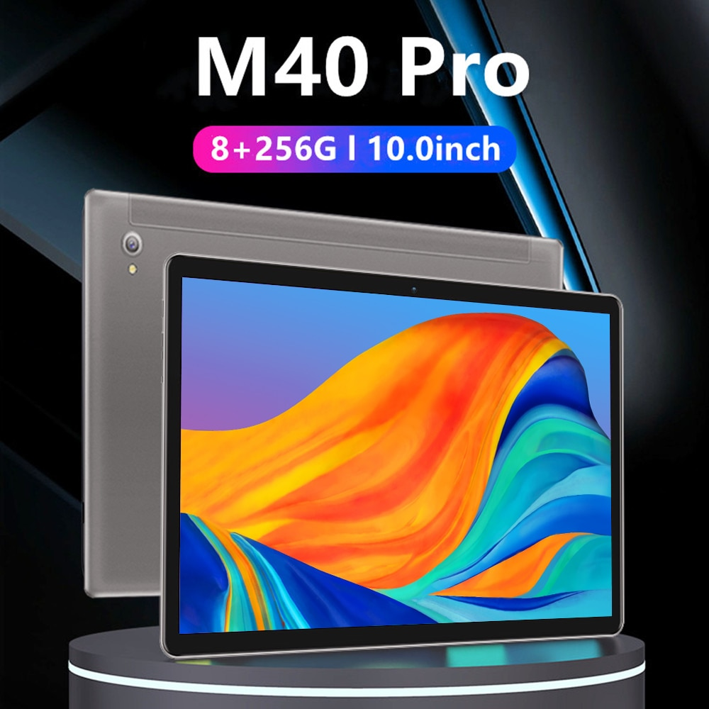 M40 Pro Tablette Android 8GB+256GB Lcd Tablet 10.1 Inch Tablet Pencil Touch Screen 10core Graphics T