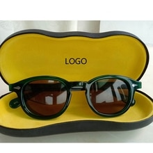 Sunglasses Men Polarized Lens Johnny Depp Sun Glasses Woman Brand UV400 Driving Shades Acetate Glass