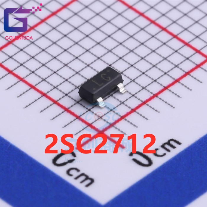 100 pièces/lot 2SC2712 LG SOT-23