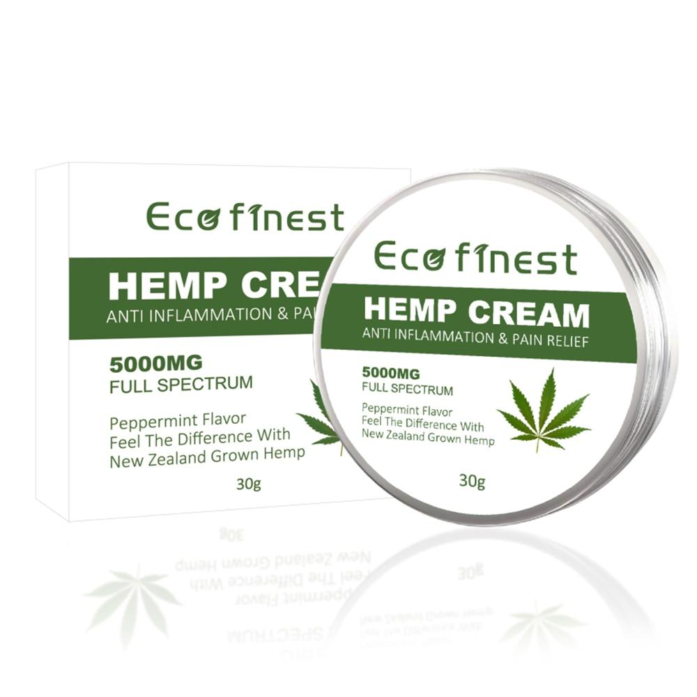 5000mg ECO finest Hemp Cream Hemp Seed Oil Pain Relief Acne Treatment Hemp Salve Pain Relief for Anti wrinkles Anti Aging недорого