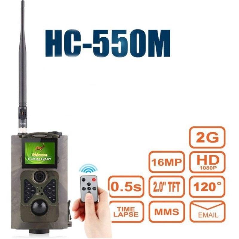 HC-550M 2G MMS rastro cámara infrarroja vida silvestre Video foto 16MP 940nm...