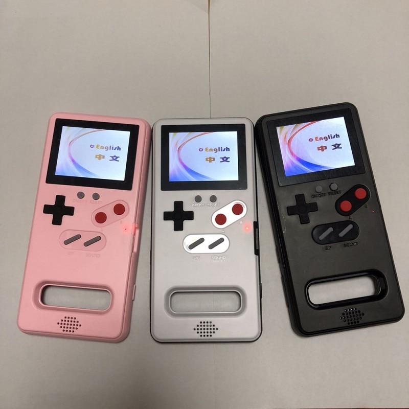 Clássico quente caso de telefone jogo exibição retro game console capa para samsung galaxy s10 novo