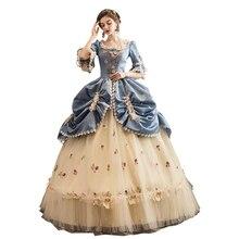 Haut de gamme cour Rococo Baroque Marie Antoinette robes de bal 18th siècle Renaissance période historique robe robe victorienne