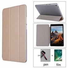 Transparent + pu fall Stand PU Leder Fall für Huawei MediaPad T3 8,0 KOB-L09/KOB-W09 Honor Spielen Pad 2 8,0 zoll Tablet Abdeckung