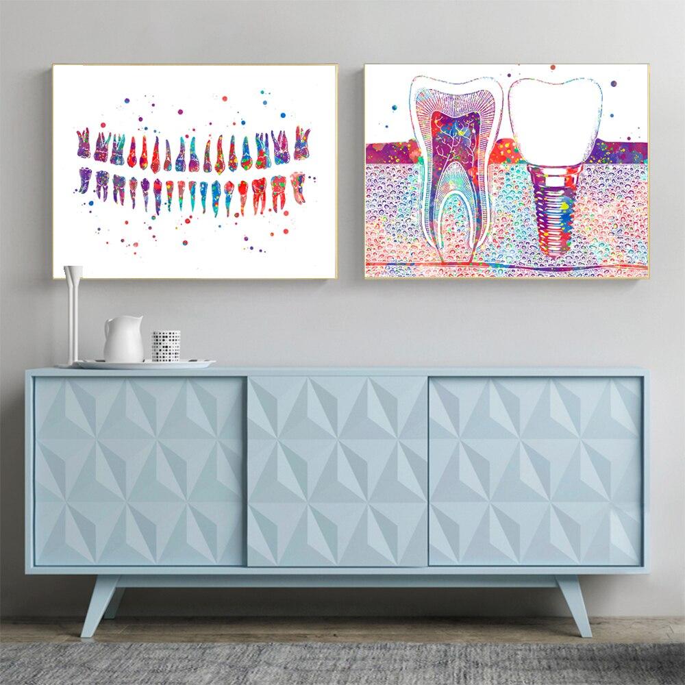 Cuadro sobre lienzo para pared de estilo nórdico instrumento quirúrgico impresión Modular imagen para carteles de Oficina de Educación Médica