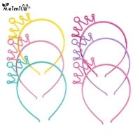 fashion plastic crown hair bands cartoon girls princess headbands children hair accessories headwearhair bands for baby girls