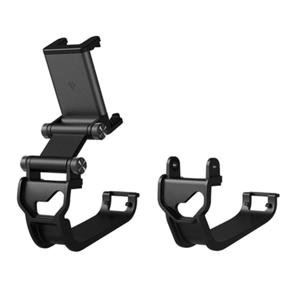 Novo stretchable telefone celular clipe suporte jogo aperto de mão montagem para xbox um/elite controlador gamepad ângulo ajustável titular móvel