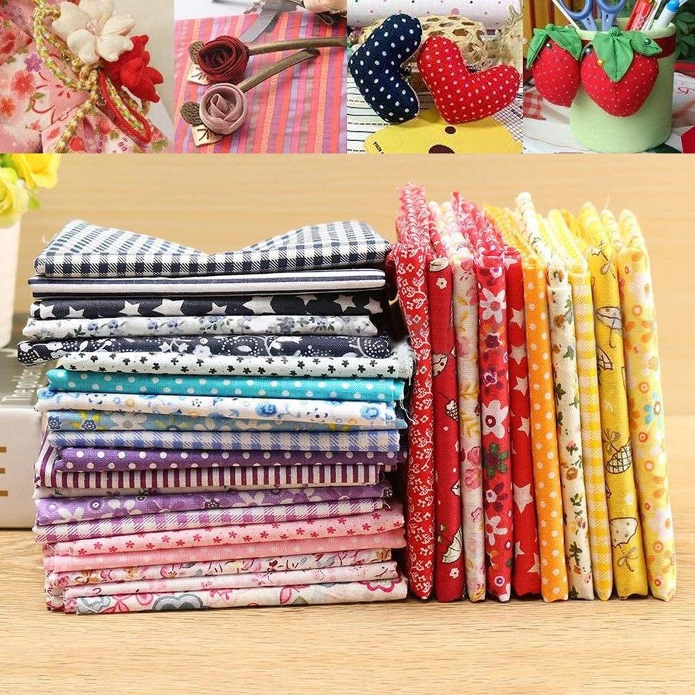 DIY Ручная работа Лоскутная Маленькая цветочная ткань хлопковая одежда ручная работа вязание домашние украшения для дома