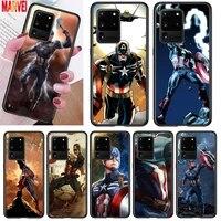 hot captain america art for samsung note 20 10 8 9 m02 m31 s m60s m40 m30 m21 m20 m10s f62 m62 m01 ultra pro plus phone case