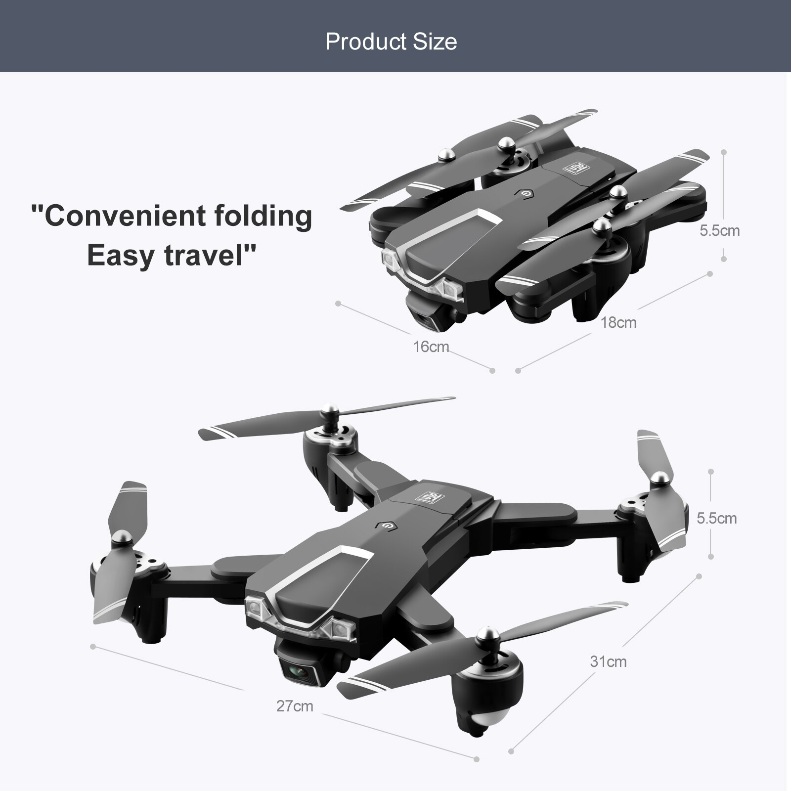 LS25 GPS RC Toy Drone 5G 6K WIFI FPV Foldable Quadcopter HD Dual Camera professional Aerial photography Brushless RC Aircraft enlarge