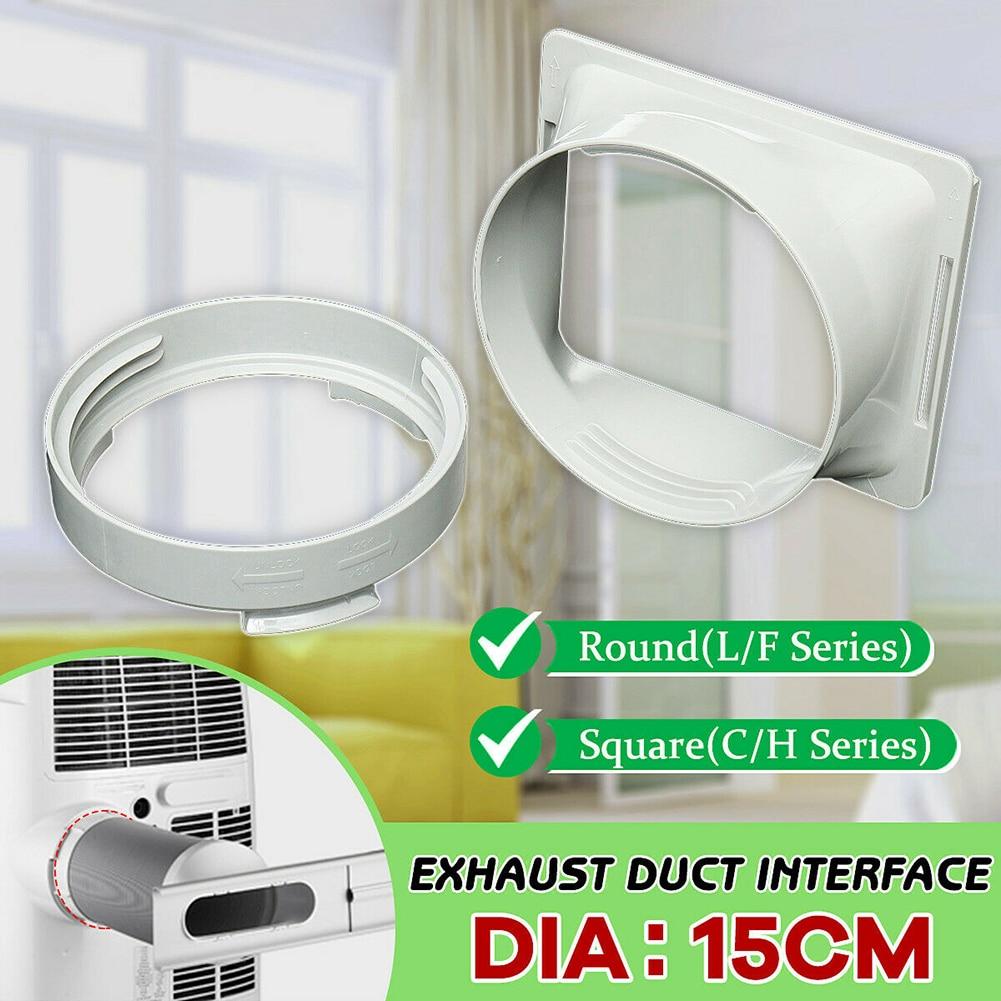 Condicionador de ar portátil adaptador de mangueira de escape adaptador de janela tubo de escape conector de mangueira para condicionador de ar portátil