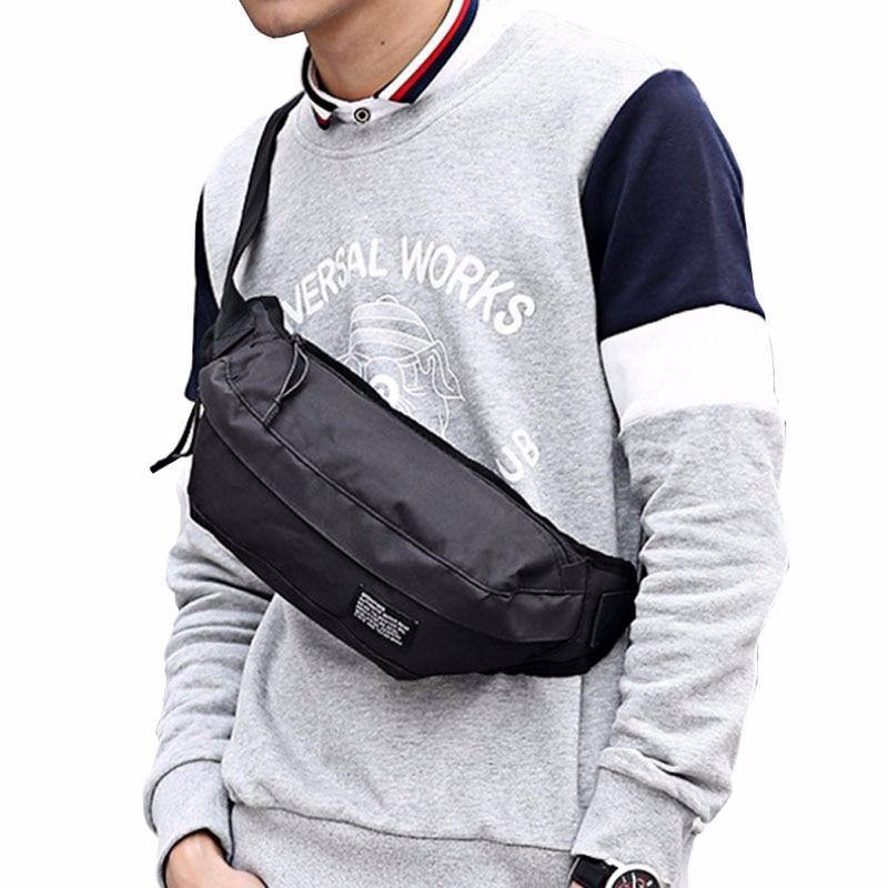 Men Waterproof 1000D Nylon Shoulder Messenger Water Bottle Bag Military Molle Kettle Hydration Pouch Small Waist Pack
