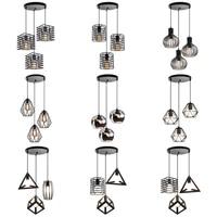 modern chandelier pendant lamp for kitchen living room home decor vintage industrial suspension hanging lights lighting fixture