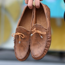 big size 39-44 mens shoes fashion brand men loafers spring autumn moccasins men leather walking shoe