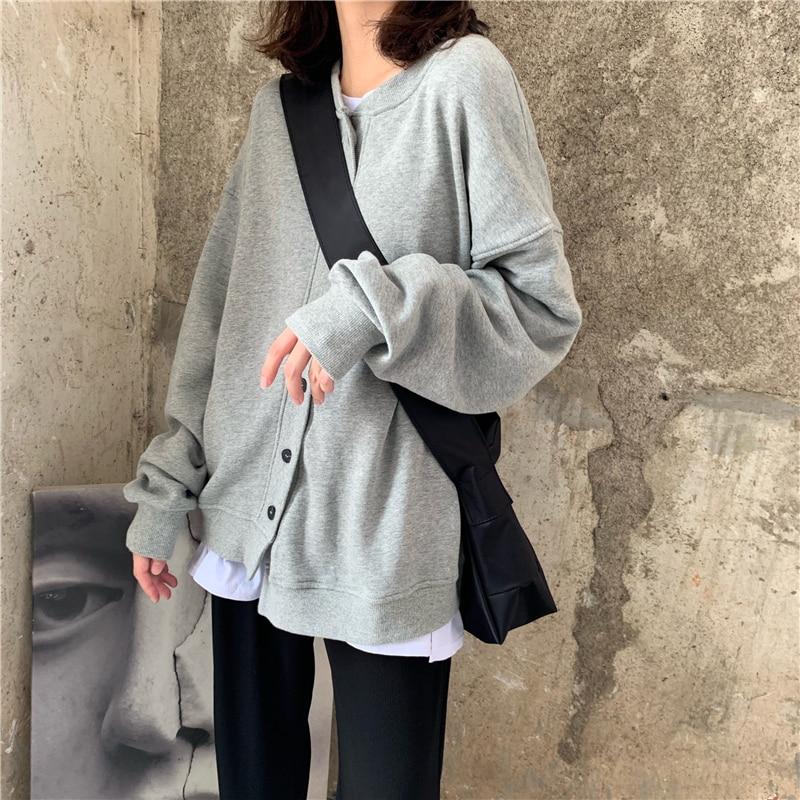 women sweatshirt coat 6103#