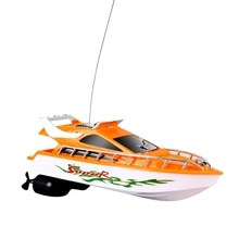 Mini RC Boats 5KM/H ABS Outdoor Electric Remote Control Speedboat Racing Toy Model for Kids Children