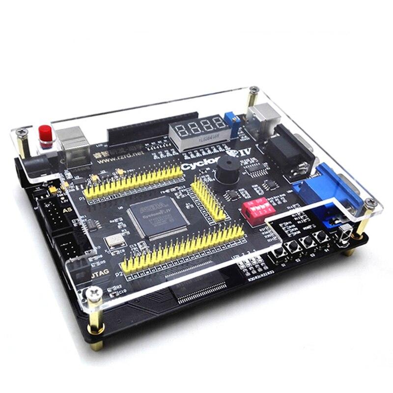 Placa de núcleo Niosi Altera Cyclone IV EP4CE FPGA Placa de desarrollo enviar controlador remoto infrarrojo Downloader