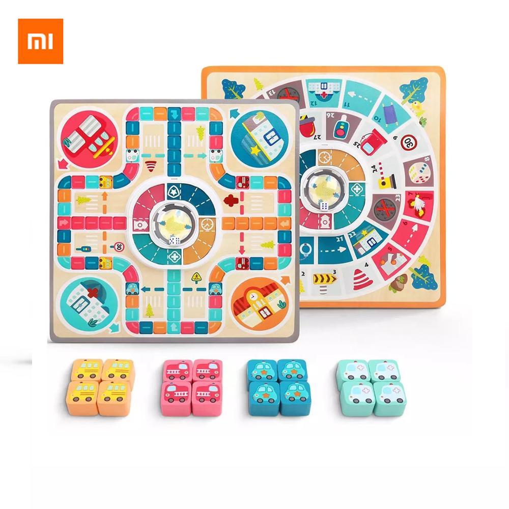 Xiaomi Topbright Cidade Auto Voando Jogo de Tabuleiro de Xadrez Tema Double-sided Placa Double-sided Jogo para Crianças Com Mais de 3 anos de Idade
