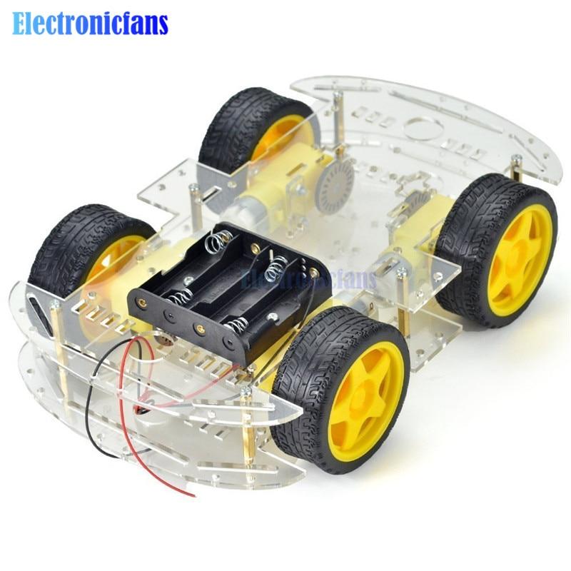 Diy Электронный умный автомобильный ко�