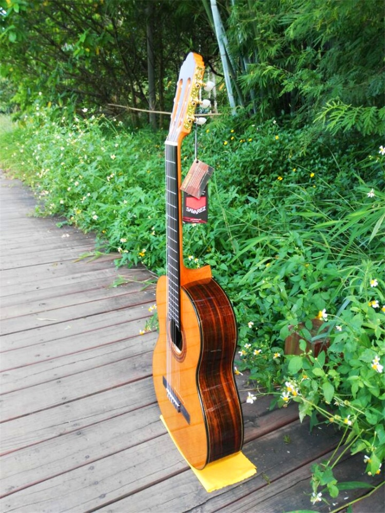 39 inch Acoustic Classical guitar,VENDIMIA Spruce /Rosewood Acoustic guitarras,classical guitar with Nylon string + STRINGS enlarge