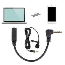 4 pôles à 3 pôles Microphone Audio convertisseur de micro USB lien adaptateur connecteur câble fil Microphone convertisseurs