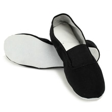 USHINE EU22-45 Cloth Slippers Soft Teacher Gym Indoor Exercise Fitness Yoga Ballet Dance Shoes Children Kids Girls Woman Man