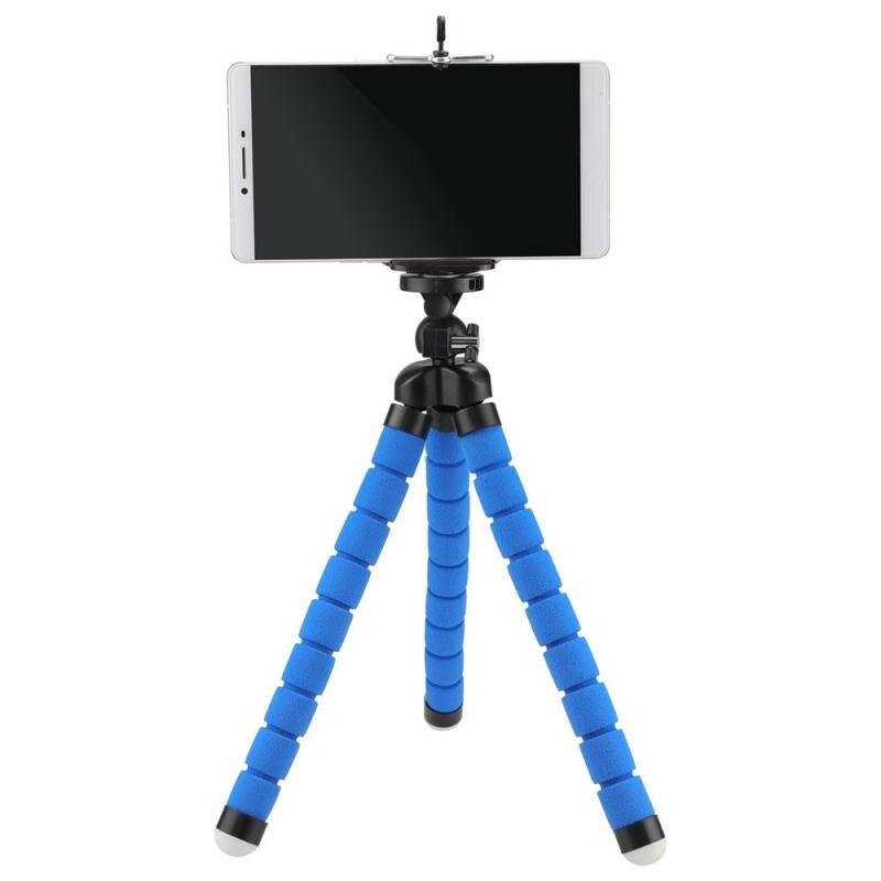 Support de téléphone trépied pour téléphone appareil photo Mobile support de bureau support de pieuvre Flexible pour IPhone Xiaomi Samsung support accessoires