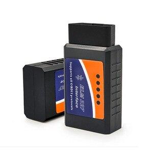 Image 2 - Новый Мини Vgate ELM 327 V1.5 V2.1 версия Bluetooth сканер OBD2 / OBDII ELM327 V 1,5 сканер штрих кода BT 16pin адаптер для android