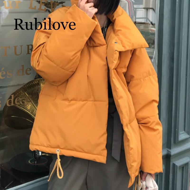 Осенне-зимняя куртка, Женское пальто, модная женская зимняя куртка со стоячим воротником, Женская парка, теплая Повседневная зимняя куртка, ...