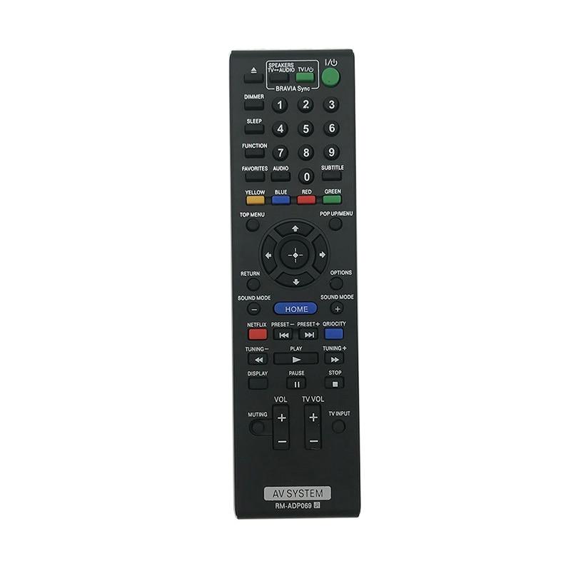 Control remoto para SONY AV RM-ADP089 RM-ADP090 HBD-E2100 HBD-E3100 DBD-E3100 HBD-E580 BDV-E280...