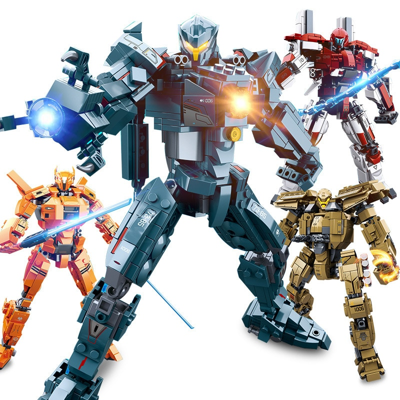 Movie Series Mecha Deformation Robot Building Blocks Toy DIY Bricks Educational Toys Compatible Children christmas Gifts new diagoned alley fit 75978 building blocks kits bricks classic movie series model kids diy toys for children christmas gifts