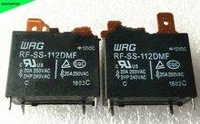 Relais RF-SS-112DMF WRG 20A 250VAC, 4 broches 12V, 5 pièces/lot