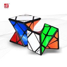 Cuberspeed Qiyi Twist Skew As Puzzel Twisty Skew Black Speed Cube Mofangge Qiyi Twisty Axis Magic Cube Puzzel