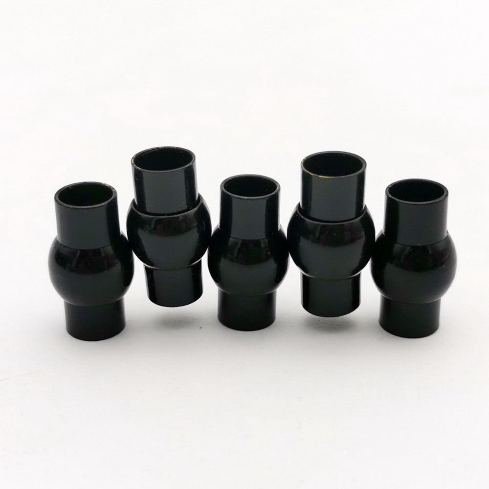 AaaZee3 juegos 6mm agujero interior negro Cierre magnético con barra de seguridad, 20mm de largo