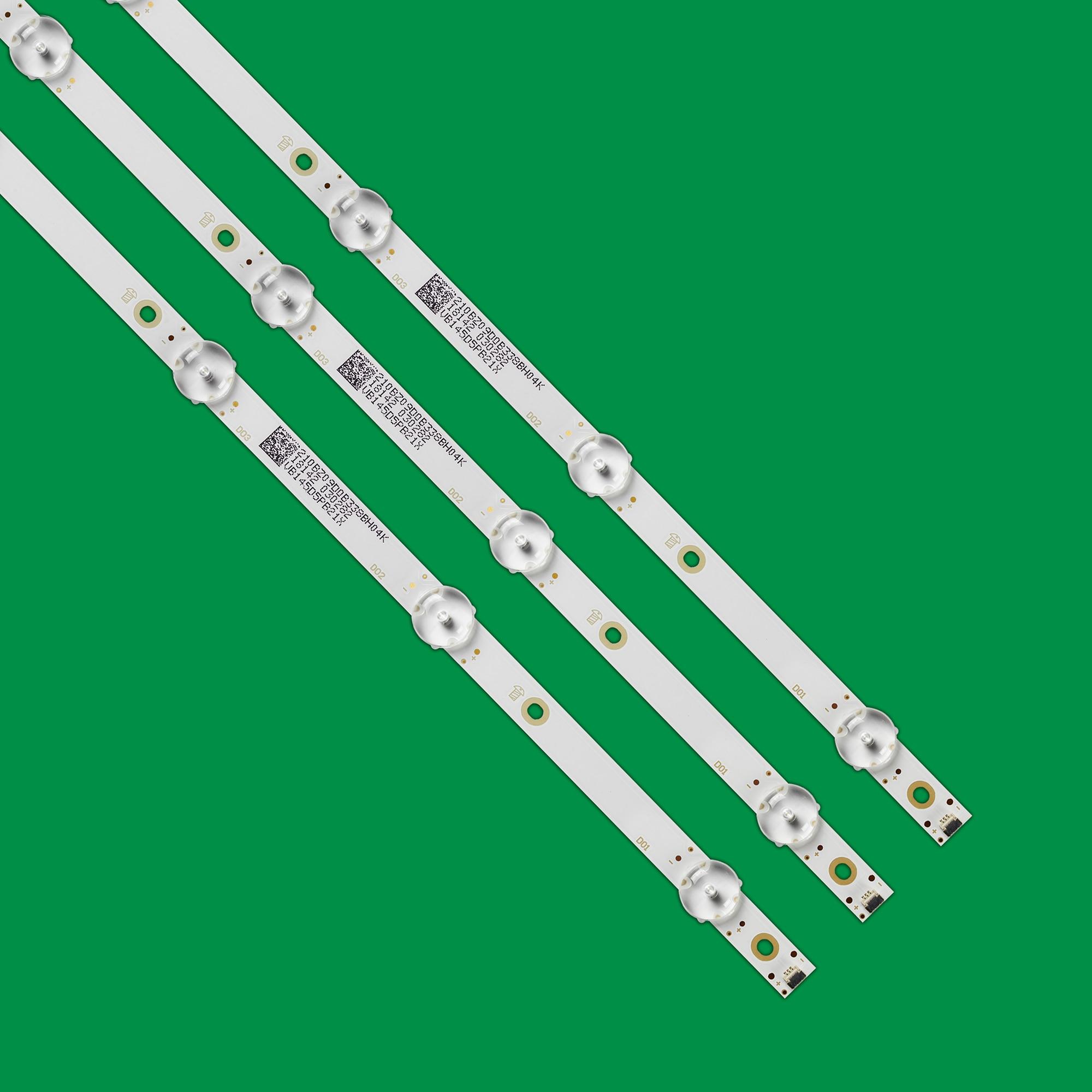 15pcs/lot 9LED(3V) 840mm LED Backlight strip for Aoc 43s5295 43PFG5813 43PFG5813/78 43PFF5292 CEJJ-LB430Z-9S1P-M3030-D-1 enlarge
