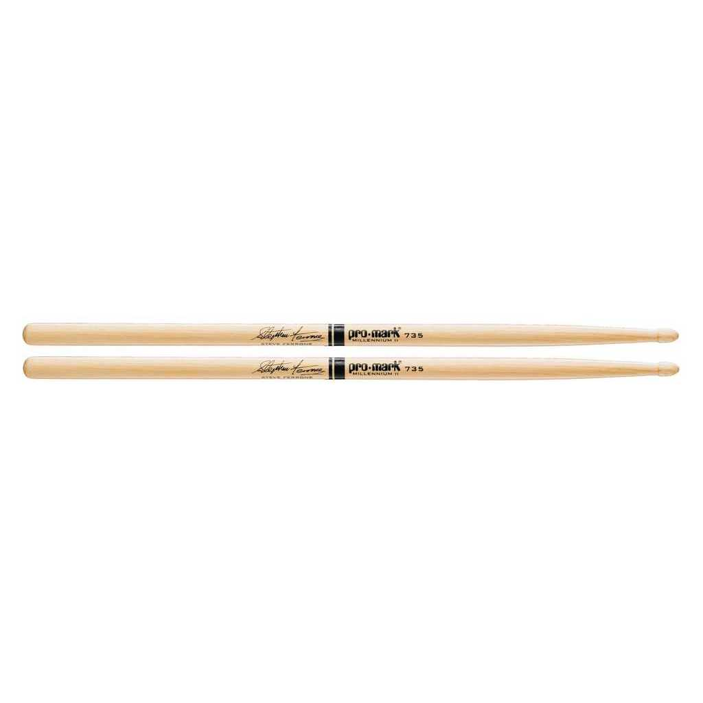 Tx735w 735 palos de tambor Steve Ferrone, tuerca de nogal, Promark