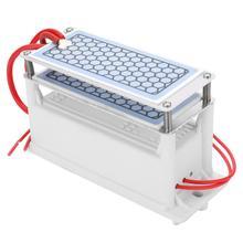 Profesional 10 g/h generador de ozono de cerámica doble placa integrada ozonizador agua purificador de aire para uso de fábrica química DIY