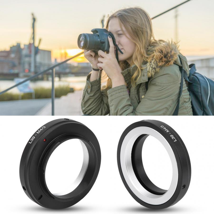 lens adapter L39-M4/3 Aluminum Alloy Adapter Ring for Leica L39 Mount Lens to for M4/3 Mount Camera lens holder