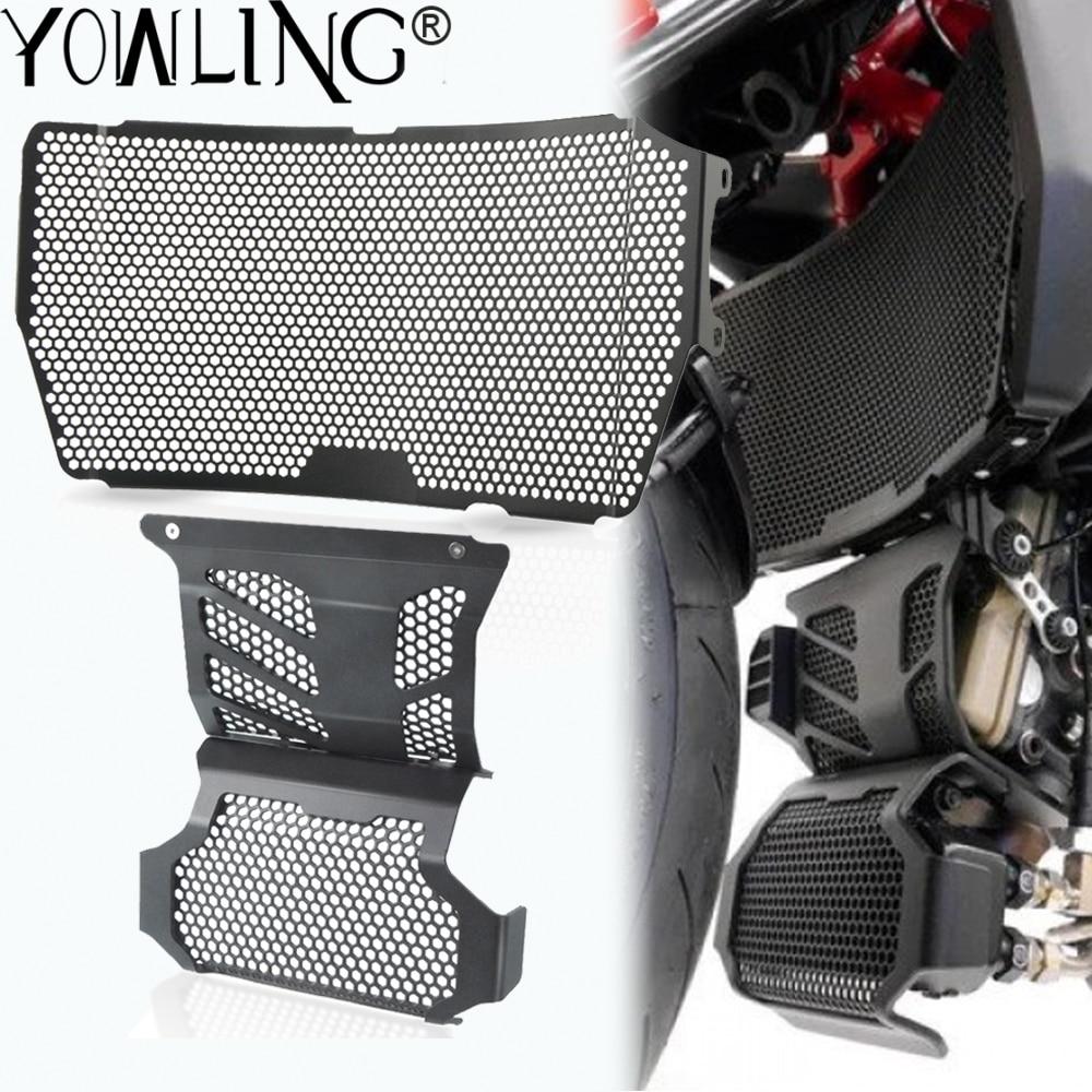 Защитная решетка радиатора мотоцикла, защитная для Ducati Hypermotard 939 950 SP Hyperstrada 939, защита двигателя
