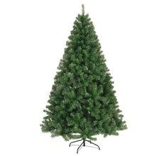 120/150/180 cm 암호화 녹색 나무 미니 인공 크리스마스 트리 장식 가족 크리스마스 장식 홈 장식