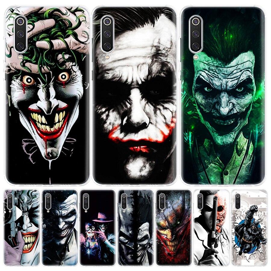 dc Batman Dark Knight Joker Karta Phone Case For Redmi Note 8T 8Pro 8 7 6 5 4X 8A 8 7a 7 6Pro 6A 6 K30 20 Xiaomi MI F1 9 8 5X 6X