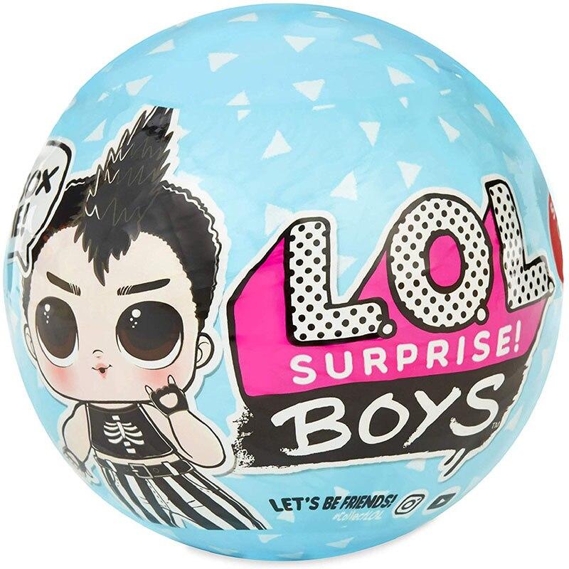 LOL sorpresa muñeca pelota de demolición serie novio caja ciega muñeca montada niño niña juguete intercambiable accesorios de ropa
