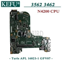 kefu turis apl 16823 1 gfv07 original mainboard for dell inspiron 15 3562 13 3462 with n4200 laptop motherboard