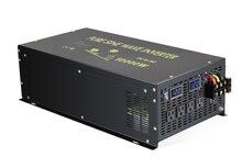 Inversor de potencia de onda sinusoidal pura de 10000W, generador inversor Solar de 24V a 220V CC a convertidor de CA 12V/48V a 120V/240V Contro remoto
