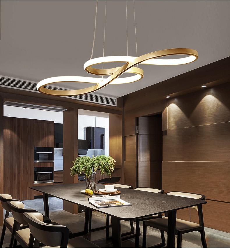 Ouyang تشن الإضاءة بساطتها لتقوم بها بنفسك مطعم الثريا ما بعد الحداثة تصميم led الثريا بار مقهى الثريا