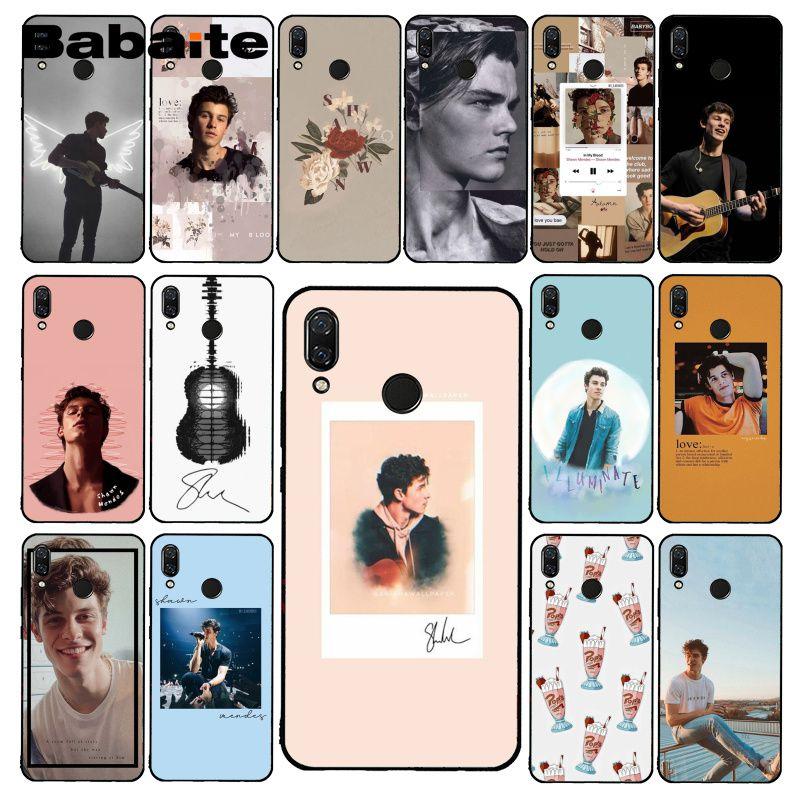 Babaite хит поп-певец Шон Мендес Magcon чехол для телефона для Xiaomi Redmi8 4X 6A S2 Go Redmi 5 5Plus Note4 5 7 Note8Pro