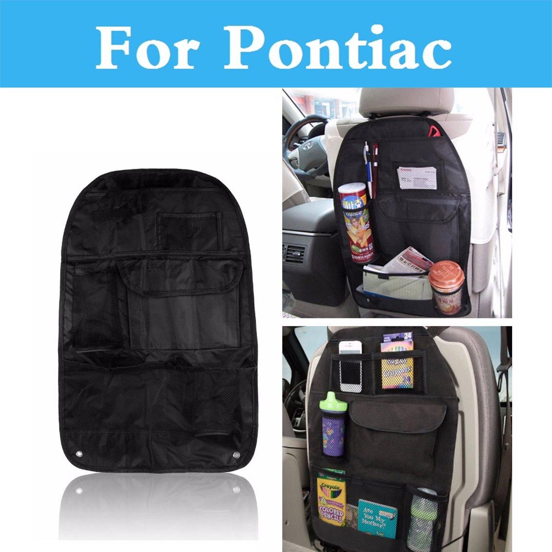 Auto Multi-Bolsillo asiento trasero bolsa organizador taza almacenamiento de alimentos para Pontiac Solstice Sunfire Torrent Grand Prix gto