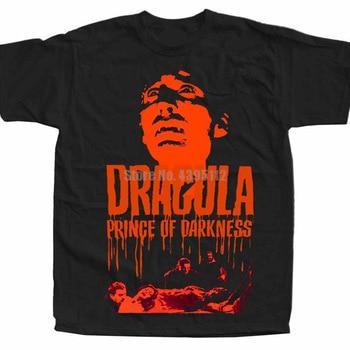 Dracula Prince Of Darkness Poster Male Viking Tshirt Wear T-Shirt Weird Tshirts Anime T-Shirts Gym Clothing Diwgwo